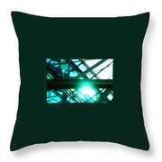 Rays And Beams Throw Pillow