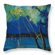 Rays Of Divinity Throw Pillow
