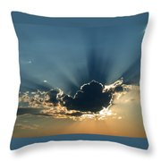 Rays Of Light Throw Pillow