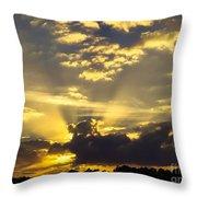 Rays Of Sunlight Throw Pillow