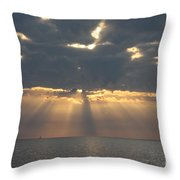 Rays Of The Sunlight Throw Pillow