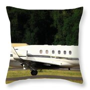 Raytheon Hawker 800xp Throw Pillow