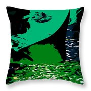 The Great Ray Throw Pillow