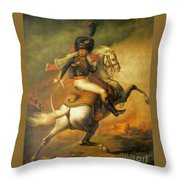 Re Classic Oil Painting General On Canvas#16-2-5-08 Throw Pillow