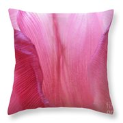 Re-enforcements In Pink Throw Pillow