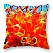 Reach For A Glorious Morning Throw Pillow