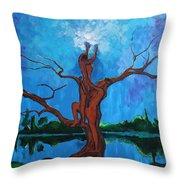 Reach For The Light My Sister Throw Pillow