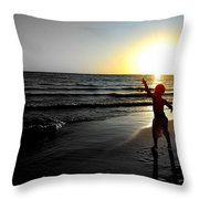 Reach For Your Dreams 2 Of 4 Throw Pillow