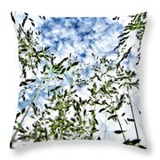 Reach To The Sky Throw Pillow