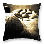 Reachin Out Throw Pillow