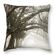 Reaching Branches Throw Pillow