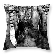Quiet Strength Throw Pillow