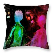 Hold On To Me When They Are Reaching Out For You  Throw Pillow