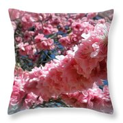 Reaching Out... Throw Pillow