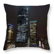 Reaching The Clouds Throw Pillow