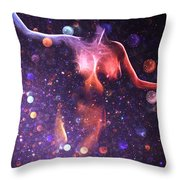 Reaching The Stars Throw Pillow