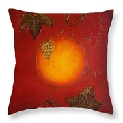 Reaching The Sun Throw Pillow by Elena  Constantinescu