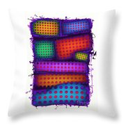 Reactive Wall Throw Pillow