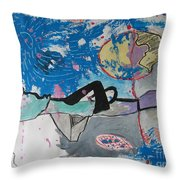Read My Mind2 Throw Pillow