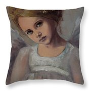 Reading Into Your Soul  Throw Pillow