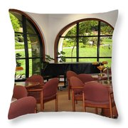 Reading Room Throw Pillow