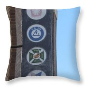 Reading Room Two Throw Pillow
