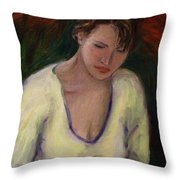Reading Throw Pillow