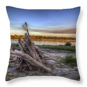 Ready For Ignition Throw Pillow