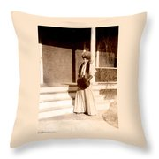 Ready For My Photo Throw Pillow