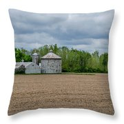 Ready For Planting Throw Pillow
