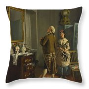 Ready For The Ball Throw Pillow
