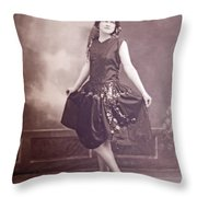 Ready For The Dance Throw Pillow