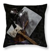 Ready To Cook Throw Pillow