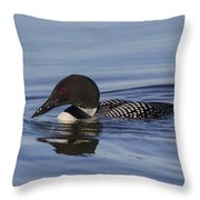 Ready To Dive Throw Pillow