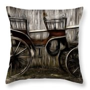 Ready To Ride - Featured In Both Groups Spectacular Artworks Of Faa And Cards For All Occ  Throw Pillow