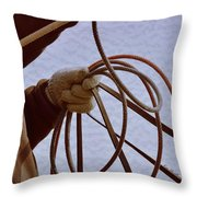 Ready To Rope Throw Pillow