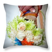 Ready To Wed Throw Pillow