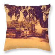 Ready To Work Throw Pillow