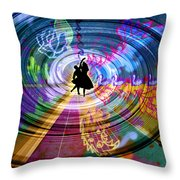 Real City Beat Throw Pillow
