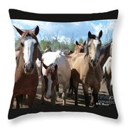 Real Close Throw Pillow