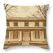 Real Dances With Wolves Se Throw Pillow