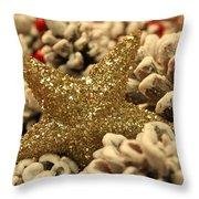 Real Gold Throw Pillow