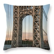 Real Steel Throw Pillow