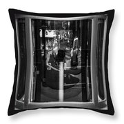 Real Windows Have Curves Throw Pillow