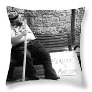 Reality Is Awesome  Throw Pillow
