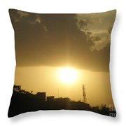 Really Beautiful Sunset Throw Pillow