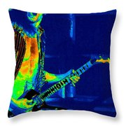 Really Cosmic And Loud Throw Pillow