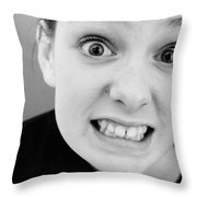 Really? Throw Pillow by Jacqueline Athmann