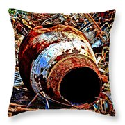 Really Rusty Throw Pillow