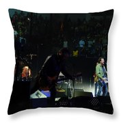 Rear View Mirror Throw Pillow